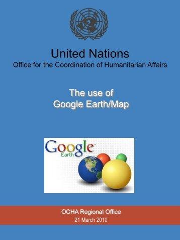 Google Earth - Ocha-romena.org