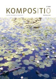 Kompositio 02 / 2010 - Suomen Säveltäjät ry