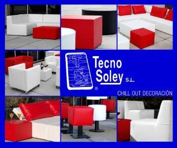 mobiliario chill out - Tecnosoley