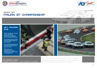 pres. campionato GT UK - ACI Sport Italia