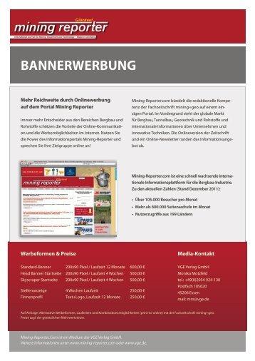 BANNERWERBUNG - VGE Verlag Gmbh