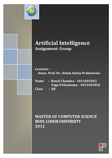 Artificial Intelligence Definition: A Review (Unformated) - File