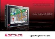 Operating instructions - Becker.lv
