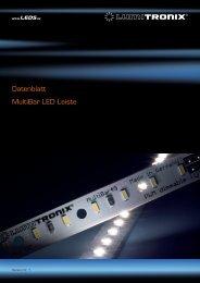 Datenblatt MultiBar LED Leiste - LEDS.de