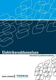 Elektrikeruddannelsen - information til praktikvirksomheder - Tekniq.dk