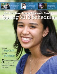Spring 2013 Schedule - Alamo Colleges