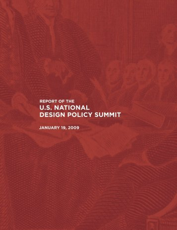 U.S. NATIONAL DESIGN POLICY SUMMIT - Design Exchange
