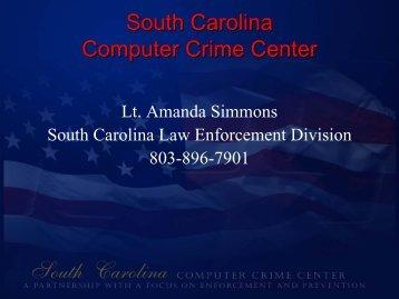 South Carolina South Carolina Computer Crime Center
