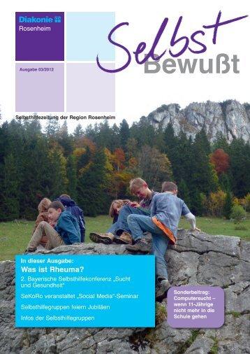 Selbsthilfegruppen - Selbsthilfekontaktstelle Rosenheim - SeKoRo