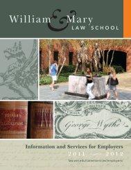 William & Mary Law