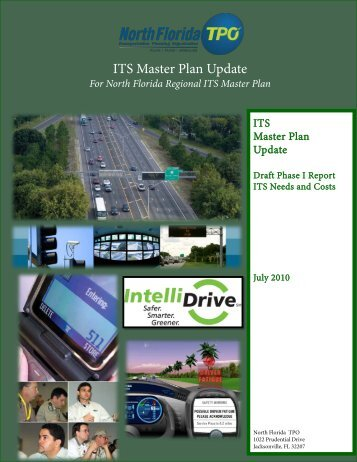 Regional ITS Master Plan 2010 Update Report - North Florida TPO
