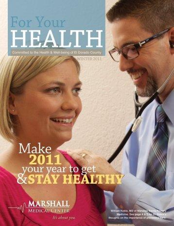Make 2011 - Marshall Medical Center