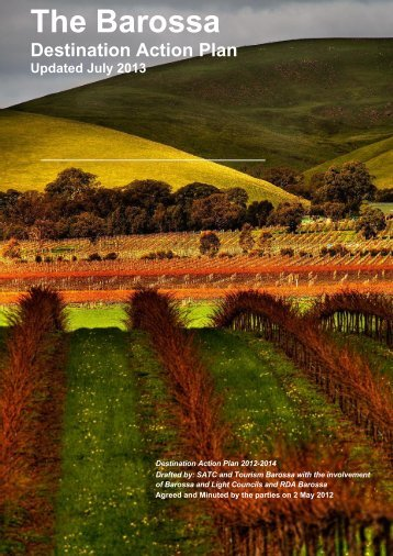 Barossa Destination Action Plan - South Australian Tourism ...