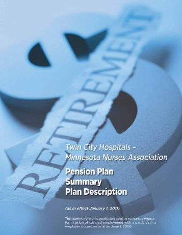 (as in effect January 1, 2011) - Minnesota Nurses Association