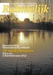 Ruimtelijk maart 2007 - Stichting Ruimte Roermond