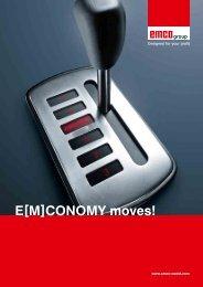E[M]CONOMY moves! - Emco Maier GmbH