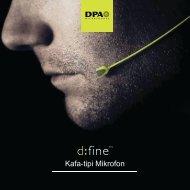 DPA d:fine Kafa Tpi Mikrofonlar(1mb) - Radikal