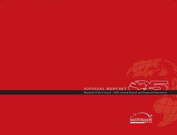 2005 Annual Report - Manitoba Pork Council