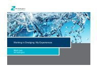 Working in Dredging: My Experiences