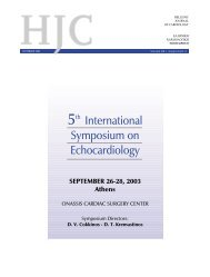 FRONT PAGES supplement C Q4 - The Hellenic Journal of Cardiology