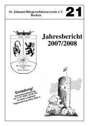Jahresbericht 2008:Jahresbericht 2007 - St. Johanni