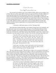 Law vs Grace - NetBibleStudy.com