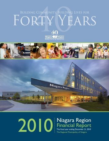 2010 Annual Report - Niagara Region