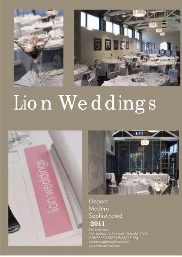 Lion Weddings - The Lion Hotel