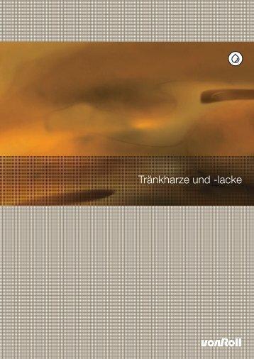 Tränkharze und -lacke - Von Roll