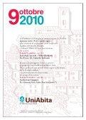 Servizi di Comunità Mensile di informazione O ttobre '10 - Uniabita - Page 2
