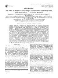 Geochimica et Cosmochimica Acta, Volume 65, Issue 20, 15 ...