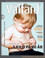 +5 Kilo på 20 år (pdf) - Statistiska centralbyrån