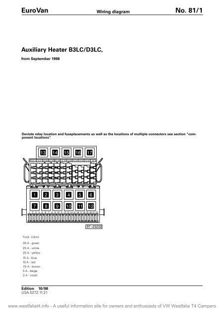 Eberspacher D3lc Wiring Diagram