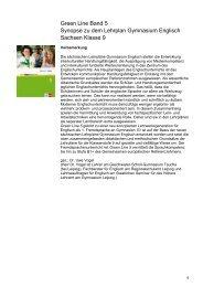 Green Line Band 5 Synopse zu dem Lehrplan Gymnasium Englisch ...