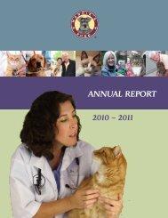 ANNUAL REPORT 2010 – 2011 - Maddie's Fund
