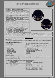 ASA-CB: CAN BUS ANGLE SENSOR - 3b6.it