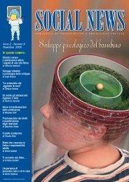 Anno 2 - Numero 9 Novembre 2005 Sviluppo infantile ... - Social news