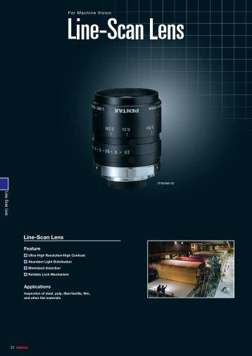Line-Scan Lens
