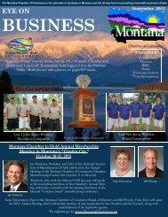 September 2012 EYE on Business - Montana Chamber of Commerce