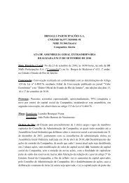 BRMALLS PARTICIPAÇÕES S.A. CNPJ/MF 06.977.745/0001-91 ...