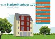 Prospekt Stadtreihenhaus 170 - Kowalski Haus