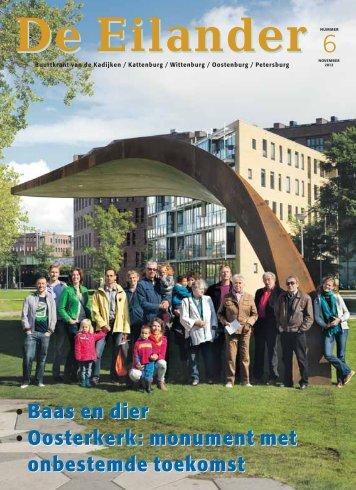 Baas en dier Oosterkerk: monument met onbestemde ... - WCOB