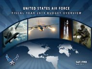 FY14 Budget Rollout Brief - Air Force Financial Management ...