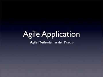 Agile Methoden in der Praxis