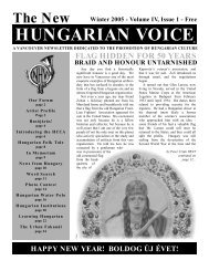 THE NEW HUNGARIAN VOICE WINTER 2005 (Read-Only)
