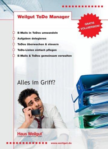 ToDo ManagerMail neu.indd - Haus Weilgut GmbH