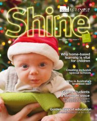 December 2010 Vol.2, Issue 11 - Department of Education and Early ...