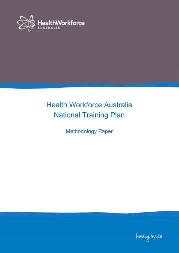 7 - Health Workforce Australia