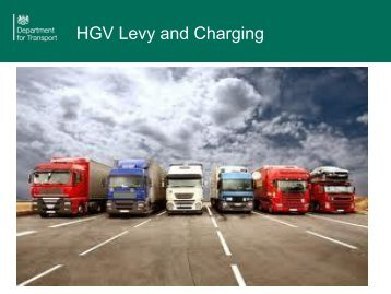 HGV Levy and Charging - untrr