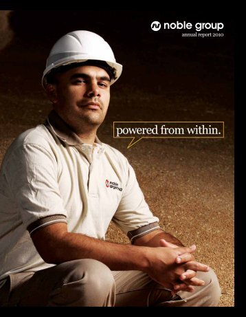 powered from within. - Noble Group